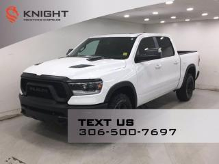 New 2019 RAM 1500 Rebel Crew Cab | Sunroof | Navigation | for sale in Regina, SK