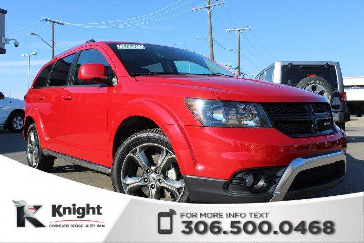Knight Dodge Swift Current >> Used 2018 Dodge Journey Crossroad For Sale In Swift Current