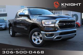 Used 2019 RAM 1500 Big Horn Crew Cab | Heated Seats and Steering Wheel | Remote Start for sale in Swift Current, SK