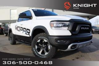 Used 2019 RAM 1500 Rebel Quad Cab | Heated Seats and Steering Wheel | Remote Start for sale in Swift Current, SK