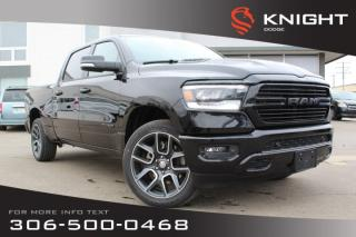 Used 2019 RAM 1500 Sport Crew Cab | Leather | Sunroof | Remote Start for sale in Swift Current, SK
