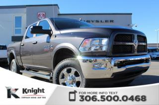 New 2018 RAM 2500 Outdoorsman Crew Cab | Heated Seats and Steering Wheel | Remote Start for sale in Swift Current, SK