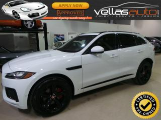 Used 2018 Jaguar F-PACE S| AWD| NAVI| PANO RF| 3.0L SUPERCHARGED for sale in Vaughan, ON