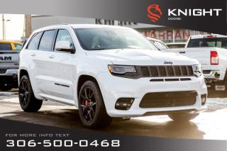 New 2019 Jeep Grand Cherokee SRT | 6.4L Hemi | Sunroof | Navigation for sale in Swift Current, SK
