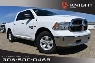 Used 2019 RAM 1500 Classic SLT Crew Cab | Back-up Camera for sale in Swift Current, SK