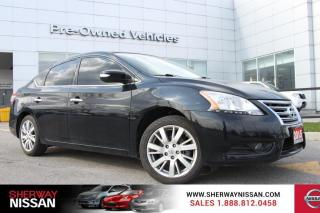 Used 2015 Nissan Sentra Clean carfax 2015 sentra SL. Nissan certified preowned! for sale in Toronto, ON