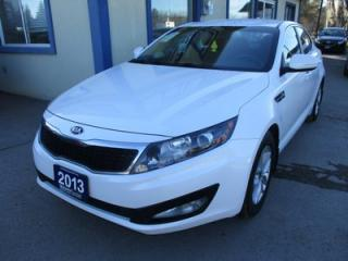 Used 2013 Kia Optima GAS SAVING GDI EDITION 5 PASSENGER 2.4L - DOHC.. HEATED SEATS.. CD/AUX/USB INPUT.. BLUETOOTH SYSTEM.. KEYLESS ENTRY.. for sale in Bradford, ON