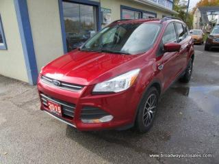 Used 2015 Ford Escape POWER EQUIPPED SE MODEL 5 PASSENGER 2.0L - ECO-BOOST.. NAVIGATION.. HEATED SEATS.. BACK-UP CAMERA.. BLUETOOTH SYSTEM.. KEYLESS ENTRY.. for sale in Bradford, ON