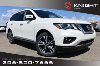 New 2019 Nissan Pathfinder Platinum Leather   Navigation   Remote Start   Heated & Cooled Seats   DVD   for sale in Swift Current, SK