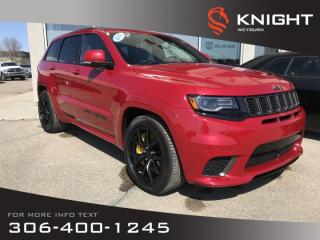 New 2018 Jeep Grand Cherokee Trackhawk 707 HP | Sunroof | Navigation for sale in Weyburn, SK