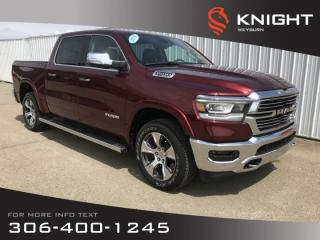 Used 2019 RAM 1500 Laramie Crew Cab | Fall Blow Out Sales Event | $373 Bi-Weekly + Tax for sale in Weyburn, SK