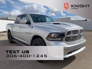 Used 2017 RAM 1500 SPORT for sale in Weyburn, SK