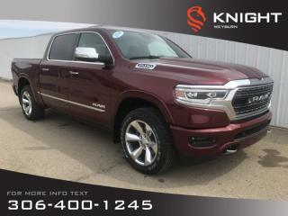 Used 2019 RAM 1500 Limited Crew Cab | Invoice Pricing | $381 Bi-Weekly Plus Tax for sale in Weyburn, SK