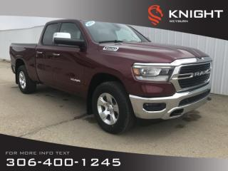 New 2019 RAM 1500 Big Horn Quad Cab | Heated Seats | Heated Steering Wheel | Remote Start for sale in Weyburn, SK