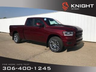 New 2019 RAM 1500 Sport Quad Cab | Heated Seats |  Heated Steering Wheel | Remote Start for sale in Weyburn, SK