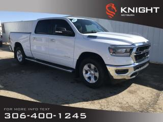 New 2019 RAM 1500 Big Horn Crew Cab | Heated Seats | Heated Steering Wheel | Navigation for sale in Weyburn, SK