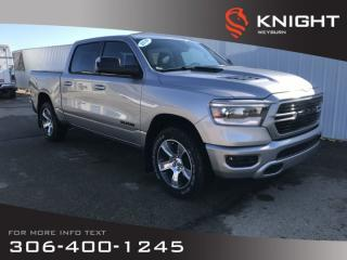 New 2019 RAM 1500 Sport Crew Cab | Heated Seats | Heated Steering Wheel | Remote Start for sale in Weyburn, SK