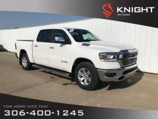 New 2019 RAM 1500 Laramie Crew Cab | Heated & Ventilated Seats | Remote Start for sale in Weyburn, SK