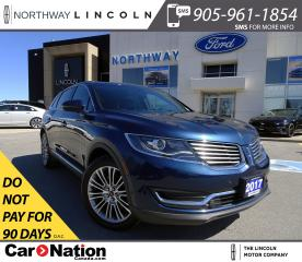Used 2017 Lincoln MKX Reserve | NAV | AWD | PWR HTD LEATHER | PANOROOF | for sale in Brantford, ON