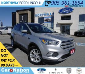 Used 2018 Ford Escape SEL   AWD   NAV   PWR HTD LEATHER   PANO ROOF   for sale in Brantford, ON