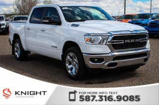 New 2019 RAM 1500 Big Horn Crew Cab | Sunroof | Navigation for sale in Medicine Hat, AB
