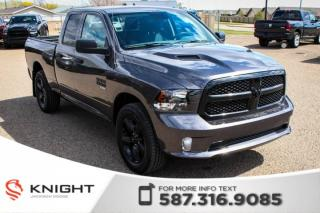 New 2019 RAM 1500 Classic Express Night Quad Cab V6 for sale in Medicine Hat, AB