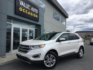 Used 2017 Ford Edge Sel Navigation,senso for sale in St-Georges, QC