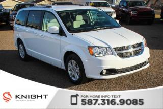 New 2019 Dodge Grand Caravan Crew | Heated Seats and Steering Wheel | DVD for sale in Medicine Hat, AB