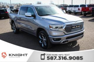 New 2019 RAM 1500 Laramie Longhorn Crew Cab | Sunroof | Navigation - $425 B/W! for sale in Medicine Hat, AB