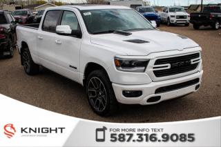 New 2019 RAM 1500 Sport Crew Cab | Leather | Sunroof | Navigation for sale in Medicine Hat, AB