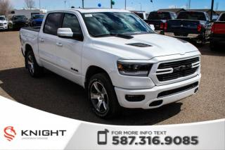 New 2019 RAM 1500 Sport Crew Cab | Leather | Sunroof | Navigation | RamBox for sale in Medicine Hat, AB