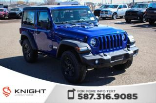 Used 2019 Jeep Wrangler SPORT for sale in Medicine Hat, AB