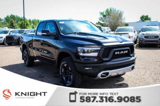New 2019 RAM 1500 Rebel Quad Cab | Heated Seats and Steering Wheel for sale in Medicine Hat, AB