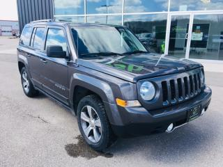 Used 2017 Jeep Patriot High Altitude, 4X4, Sunroof, Bluetooth for sale in Ingersoll, ON