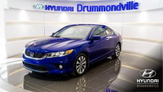 Used 2014 Honda Accord EX-L + NAVI + GARANTIe + CAMÉRA + TOIT + for sale in Drummondville, QC