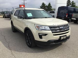 Used 2018 Ford Explorer XLT | 4WD | One Owner | Bluetooth for sale in Harriston, ON