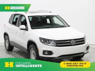 Used 2012 Volkswagen Tiguan COMFORTLINE 4Motion for sale in St-Léonard, QC