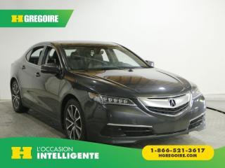 Used 2015 Acura TLX SH AWD AC GR ELEC for sale in St-Léonard, QC