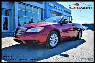 Used 2012 Chrysler 200 Ltd + Convertible for sale in Mont-Laurier, QC