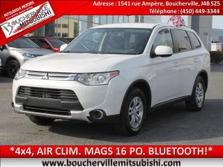 Used 2015 Mitsubishi Outlander Es 4x4, 4cyl, A/c for sale in Boucherville, QC