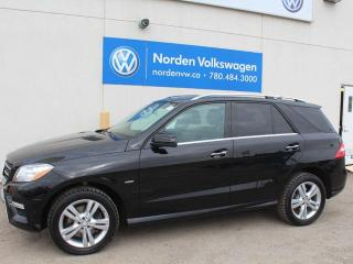 Used 2012 Mercedes-Benz ML-Class ML 350 BlueTEC for sale in Edmonton, AB