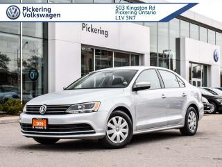 Used 2015 Volkswagen Jetta Sedan TRENDLINE + AUTOMATIC!! for sale in Pickering, ON