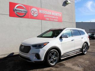 Used 2017 Hyundai Santa Fe XL LIMITED AWD 2ND ROW CAPTAINS NAVIGATION for sale in Edmonton, AB