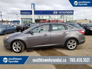 Used 2014 Ford Focus TITANIUM/LEATHER/BACK UP CAMERA/PANO SUNROOOF for sale in Edmonton, AB