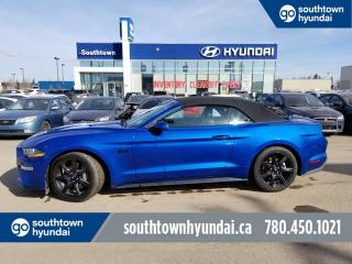 Used 2018 Ford Mustang GT 5.0/LEATHER/HEATED COOLED SEATS/BACK UP CAMERA for sale in Edmonton, AB