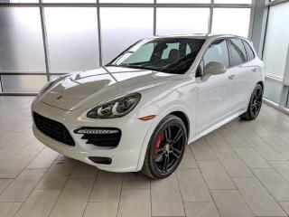 Used 2013 Porsche Cayenne Turbo | Club Leather Upgrade | Burmester | 18-way Seats | HIGH SPEC! for sale in Edmonton, AB