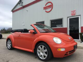 Used 2003 Volkswagen New Beetle GLX for sale in Tillsonburg, ON