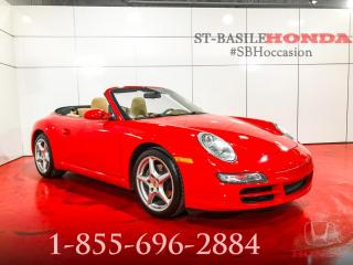 Used 2008 Porsche 911 CARRERA + MANUEL + CONVERTIBLE + UNIQUE! for sale in St-Basile-le-Grand, QC