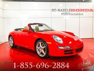 Used 2008 Porsche 911 CARRERA + MANUEL + CONVERTIBLE + UNIQUE! for sale in St-Basile-le-Grand, QC