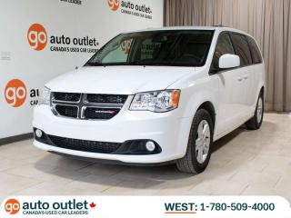 Used 2018 Dodge Grand Caravan Crew Plus, Leather heated seats, Power liftgate, Backup camera for sale in Edmonton, AB